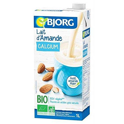 Bjorg lait d'amande calcium 1 l - ( Prix Unitaire ) - Envoi Rapide Et Soignée