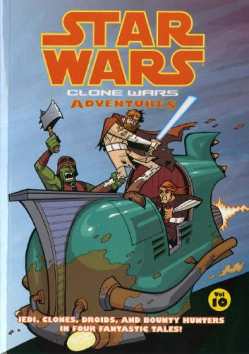 Star Wars - Clone Wars Adventures: v. 10 (Star Wars 10)