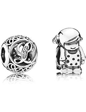 Pandora Charms Vintage L und Kleines Mädchen 08116