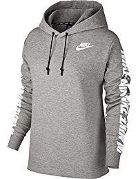 Nike Damen Advance 15 Hoody, Schwarz