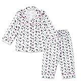 #9: Peppa Piggy Night Suit - White & Pink