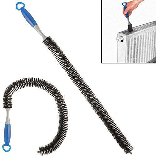 Heizkörperbürste 78 cm lang✓ flexibel✓ praktischer Aufhänger✓ - Radiatorenbürste Heizungsbürste Reinigungsbürste Rohrbürste