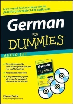 German For Dummies by Swick, Edward on 01/04/2008 Bilingual edition