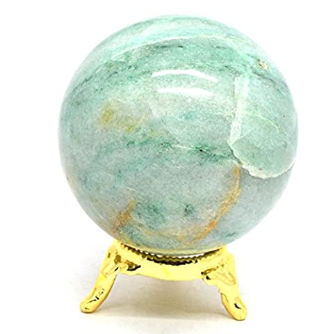 Healing Crystals India®: Natural Green Aventurine 55-60mm Polished Crystal Sphere