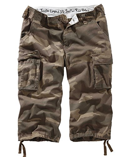Surplus Trooper Legend 3/4 Shorts, Mehrfarbig (Woodland), Gr. L