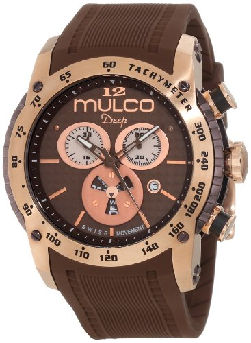 Mulco Mixte MW1-29878-033 Deep Scale Chonomètre Swiss Movement Montre
