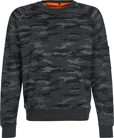 Alpha Industries X-Fit Basic Sweater black camo