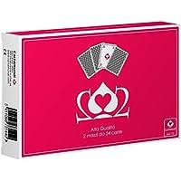 Cartamundi Cartas Poker 202Ramo de juego de cartas, juegos de mesa, estuche doble