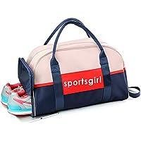 b197884c82 Uniuooi Dry Wet Separated Swimming Bag Waterproof Sports Gym Duffel Bag  Handbag Travel Beach Bag Toiletry