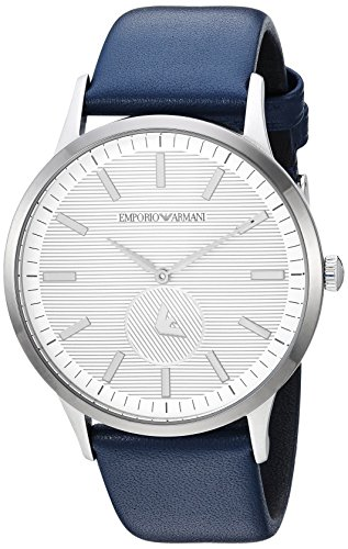 Emporio Armani Men's Analogue Quartz Watch with Leather Strap AR11119