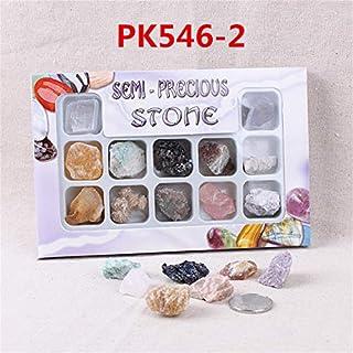 ChaRLes AU Natürliche Edelsteine ??Steine ??Variety Collection Crystals Kit Mineralische geologische Unterrichtsmaterialien - Nr. 3