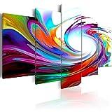 murando - Cuadro en Lienzo 200x100 cm Abstracto Impresión de 5 Piezas Material Tejido no Tejido Impresión...