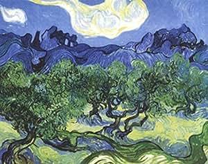 Vincent Van Gogh – Les oliviers Poster (25,40 x 20,32 cm)