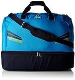 JAKO Sporttasche Pro mit Bodenfach, Blau/Marine/Citro, 60 x 35 x 43 cm, 90.3 Liter, 55247