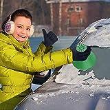 Eiskratzer Auto, Eiskratzer Rund, Schneebesen, Scheibenkratzer Auto, Schnee Und Eiskratzer Reinigung Schneeschaufel Werkzeug Eiskratzen Ice Scraper FüR Auto Windschutzscheibe