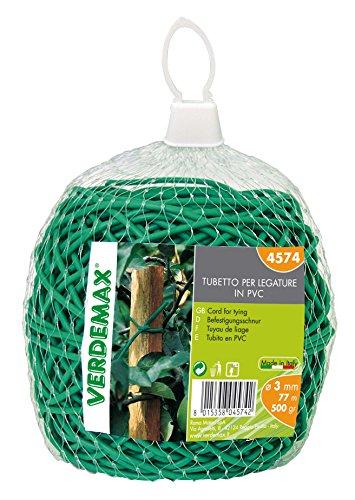 confronta il prezzo online VERDEMAX 4574bobina di corda per legare da 3mm 500g in PVC