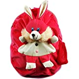 Blue Tree Soft Material School Bag For Kids Plush Backpack Cartoon Toy | Children's Gifts Boy/Girl/Baby/ Decor School Bag For Kids(Age 2 To 6 Year) (Rani Rabbit)