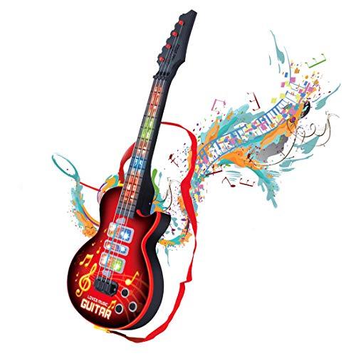 Shayson 4 Cuerdas música eléctrico Guitarra, Guitarra eléctrica niños niños bebé Musical...