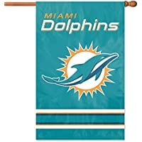 Party Animal afmd Oversized 44in. x 28in. I veri 2lati–casa Banner Flag–Dolphins