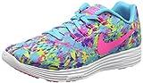 Nike WMNS Lunartempo 2 Print - Zapatillas de running para mujer, color azul, talla 40 (talla fabricante: 6 UK)