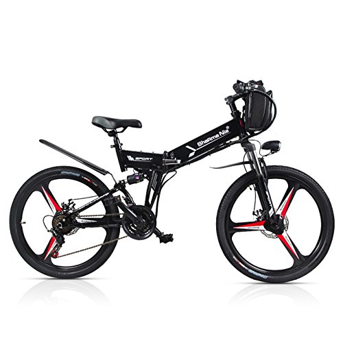 51OrnfOT 4L. SS500  - GTYW Electric Folding Bicycle Mountain Bicycle Moped 48V Lithium One Wheel Bicycle 26