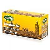 HERBA Englische Schwarzteemischung 20 Teebeutel - 12 Packungen