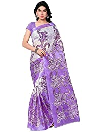 Ambe Saree Women's Art Silk Saree (Ofs_107,Multicolor,Free Size)