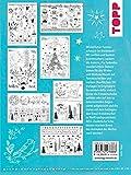 Vorlagenmappe Fensterdeko mit dem Kreidemarker - Weihnachten von Pia Pedevilla - Inkl - Original Kreidemarker von Kreul und Schablonen: 7 Vorlagenbögen ... Schablonen plus sämtliche Motive als Download - Pia Pedevilla