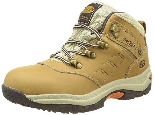 dockers-by-gerli33cy701-botas-clasicas-de-cana-baja-botas-unisex-ninos-amarillo-jaune-golden-tan-910