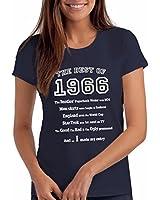 The Best of 1966 - T-shirt cadeau pour le 50e anniversaire - Femmes