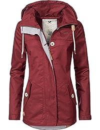 2cb364ab310c Ragwear Damen Übergangs-Jacke Like You (vegan hergestellt) 3 Farben XS-XL