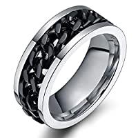 Unisex Comfort Fit Flat Band Ring