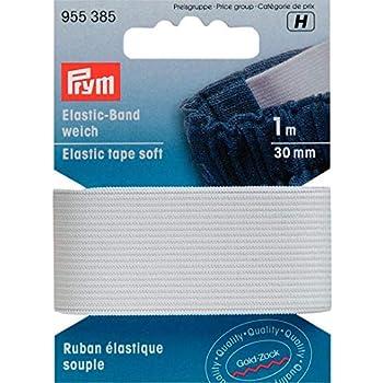 schwarz querstabil 30mm 1m  950312 Prym Elastic-Band