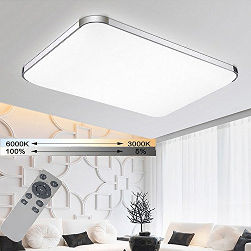 Moderne Led-deckenleuchte Leuchte Lampe Oberfläche Montieren Wohnzimmer Schlafzimmer Bad Fernbedienung Hause Dekoration Küche Farben Sind AuffäLlig Deckenleuchten & Lüfter Deckenleuchten