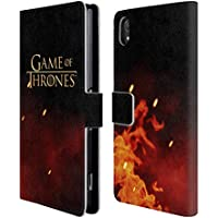 Official HBO Game Of Thrones Logo Key Art Leather Book Wallet Case Cover For Sony Xperia Z2