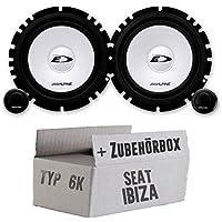 JBL Lautsprecher CLUB6520 300 Watt 16,5cm Koax incl Einbauset f/ür Seat Altea XL ab 09//2006