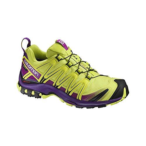 Salomon Xa Pro 3d Gtx W, Chaussures de Trail Femme Lime Punch/Grj/Ac