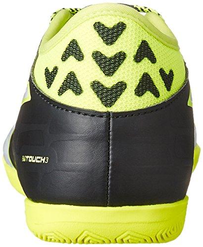 Puma Evotouch 3 It Jr, Scarpe da Calcio Unisex – Bambini Nero (Schwarz (black-white-safety yellow 01))