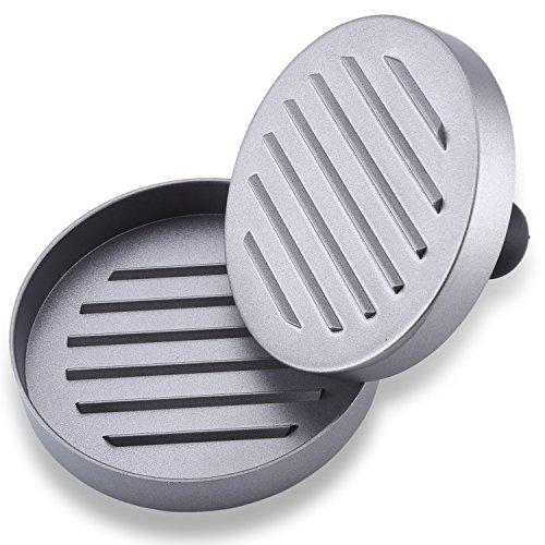 51OrrW0JPGL - Neueste Antihaft Burgerpresse - Lebenslange Ersatzgarantie - Best bewertetes Grillzubehör - Ultimatives Hamburger Grill Set - Perfektes Grillzubehör Oder Geschenk für Mann, Vater, Ehemann
