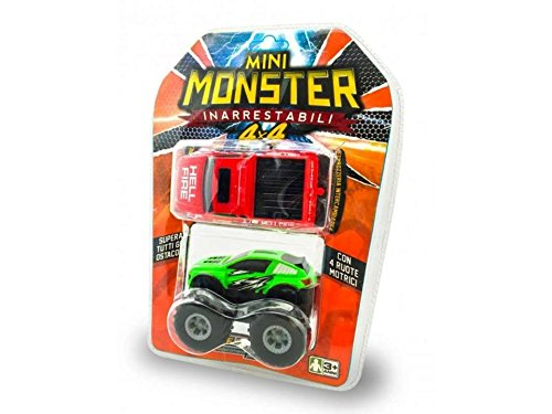 Re.El Toys Auto Batteria Mini Monster 2carr. 0300
