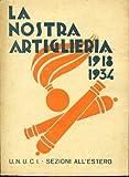 La nostra artiglieria. 1918 - 1934