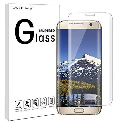 Pomisty Galaxy S7 Edge Panzerglas Schutzfolie/Displayschutzglas/Display Schutz Folie / 9H Hartglas Schutzglas/Echte Glas/Verbundenglas/Glasfolie