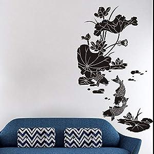 Wandaufkleber, Individuelle Lotus Schlafzimmer Wohnzimmer Esszimmer Fenster Veranda Bildschirm Küche Studie Heimtextilien, Schimmel Und Geruchsneutrale Aufkleber