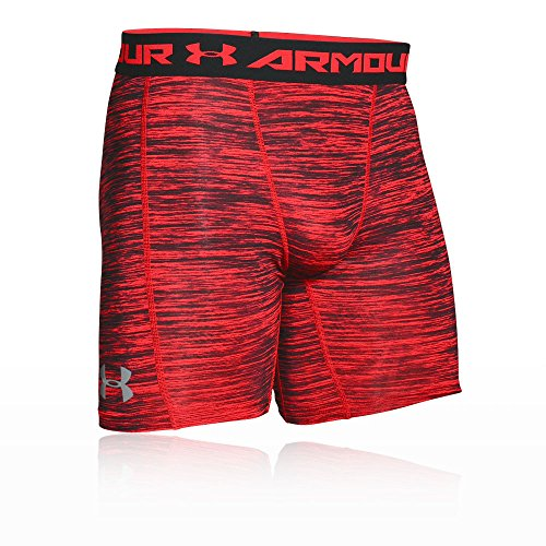 Under Armour Herren Coolswitch Compression Shorts Kompressionsbekleidung, Rot, L (Under Short Armour Herren Performance)
