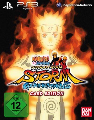 Naruto Shippuden: Ultimate Ninja Storm Generations (Card-Edition) - Naruto Ultimate Ninja Ps3