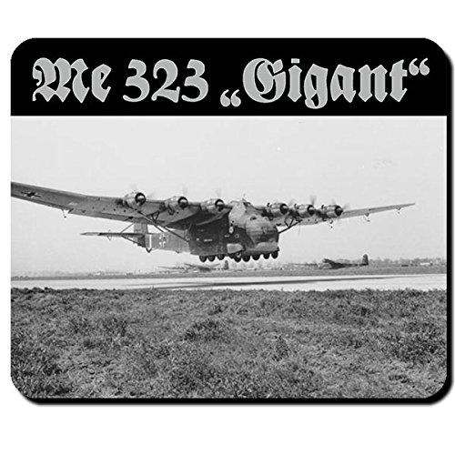 Me 323 Gigant Luftwaffe Transportflugzeug Flugzeug Flieger WK 2 Foto - Mauspad Mousepad Computer Laptop PC #10233