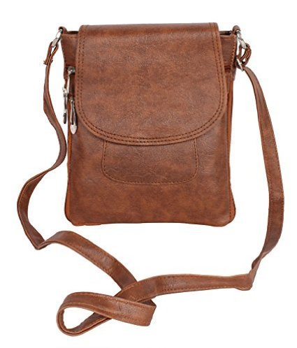Awesome Fashions Women's Sling Bag(Tan,Af050)