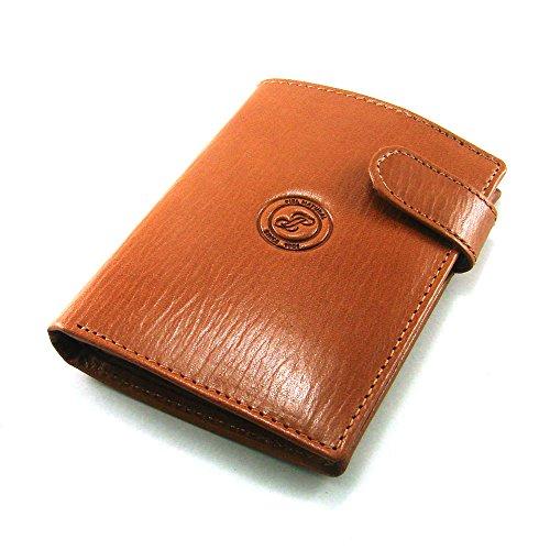 Cartera para hombre, ideal para regalo,hecho a mano en España, marca casanova, hecha en piel de vacuno, Ref. 10163 Cuero