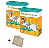 20 Staubbeutel + 1 HEPA-Filter geeignet für Bosch BSG 8330 ergomaxx professional von Staubbeutel-Profi®