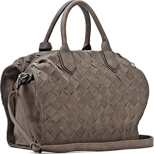 MIYA BLOOM 1026, Borsa a mano donna Beige Marrone Marrone